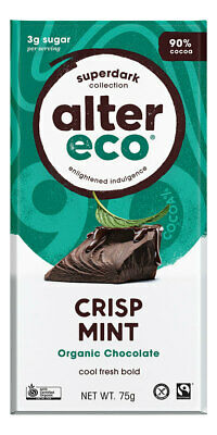 Organic Dark Mint Chocolate 80g - Alter Eco