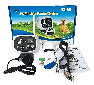 Dog Pet Electric Wireless WIFI Fence Containment System Fencing Waterproof