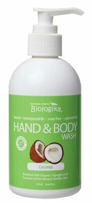 Coconut Hand & Body Wash 250ml - Biologika