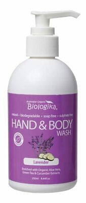 Lavender Hand & Body Wash 250ml - Biologika
