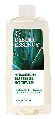 Tea Tree Oil Mouthwash 480ml - Desert Essence