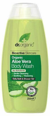 Organic Aloe Vera Body Wash 250ml - Dr Organic