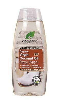 Organic Coconut Oil Body Wash 250ml - Dr Organic