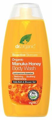 Organic Manuka Honey Body Wash 250ml - Dr Organic