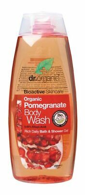 Organic Pomegranate Body Wash 250ml - Dr Organic