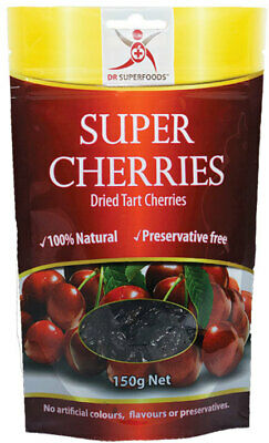 Natural Dried Tart Cherries 150g - Dr Superfoods