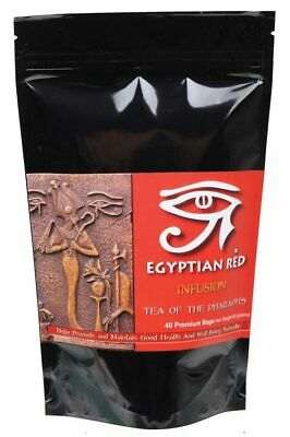 Organic Hibiscus Tea Infusion Tea Bags x40 - Egyptian Red