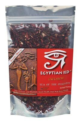 Organic Hibiscus Tea Infusion 100g - Egyptian Red