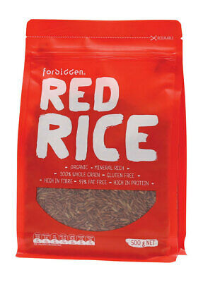High Protein Red Rice - 97% Fat Free 500g - Forbidden Foods