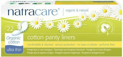 Natural Panty Liners - Ultra Thin x22 - Natracare