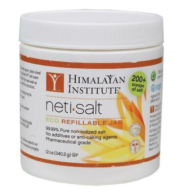 Neti Salt Eco Refillable Jar 340g - Himalayan Institute