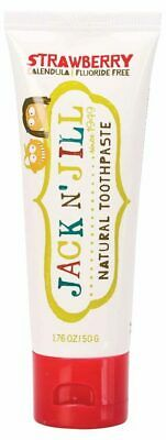 Natural Strawberry Toothpaste 50g - Jack n' Jill
