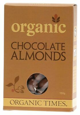 Organic Milk Chocolate Almonds 150g - Organic Times