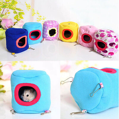 Top Quality Hamster Hanging Cage Hammock with Bed Mat for Small Furry Animals