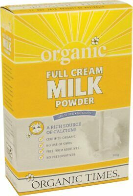 Organic Full Cream Milk Powder 300g - Organic Times