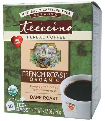 French Roast Herbal Coffee Bags x10 - Teeccino