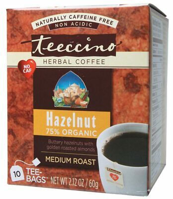 Hazelnut Herbal Coffee Bags x10 - Teeccino
