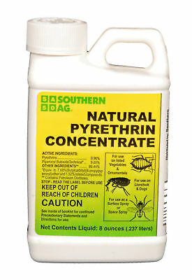Pyrethrin Concentrate 8oz. Southern Ag Organic Insecticide