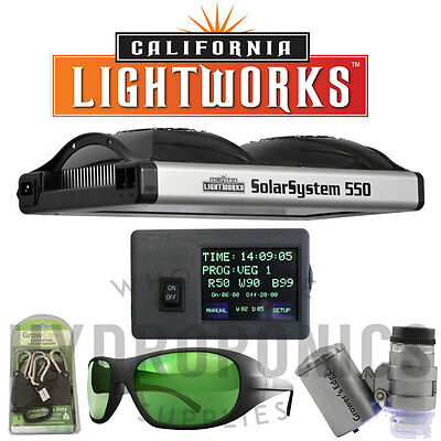 California Light Works-SolarSystem 550 Program.Spectrum LED GrowLight&Controller