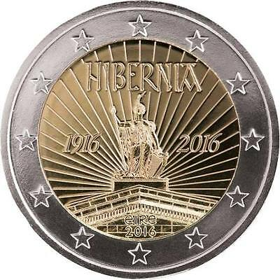 """Ireland 2 euro coin 2016 """"The Centenary of the 1916 Easter Rising"""" UNC"""