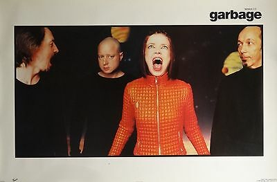 Garbage 23x34 Group Music Poster 1998 Shirley Manson