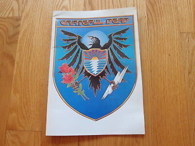 Vintage 1983 / 1984 Grateful Dead Tour Program Book Magazine Zine