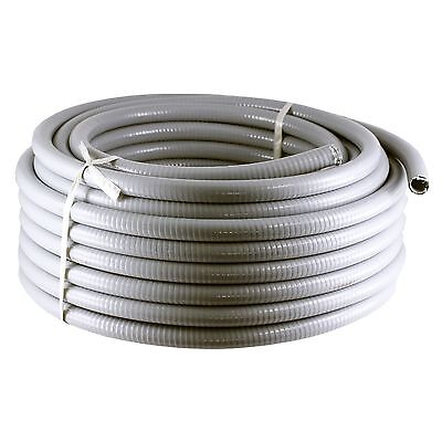 "100' feet Liquidtight Sealtight flexible metal conduit 1/2"" PVC"