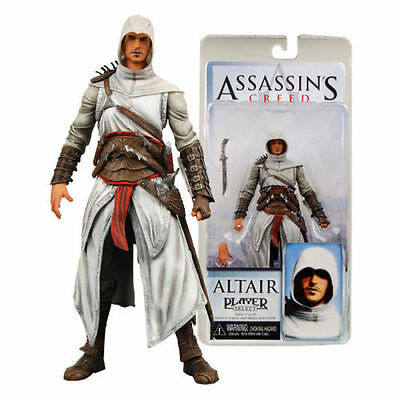 """7"""" Assassin's Creed Altair Player Select Neca Statue Action Figure Figurines Toy"""