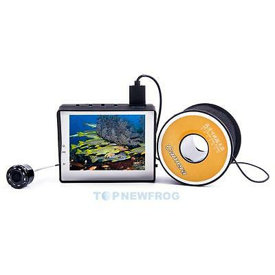 "New Fish Finder Underwater Fishing Video Camera 3.4"" TFT LCD Monitor +30m Cable"
