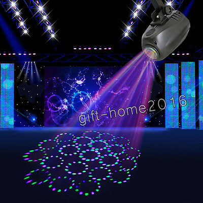 Sound-actived 64 Led RGBW Disco Stage Light DJ Lighting Effect for Party Show UK