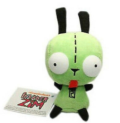 "5"" Invader Zim Alien Robot Dog Suit Gir Cute Plush Cute Toy Doll Kids Gift"
