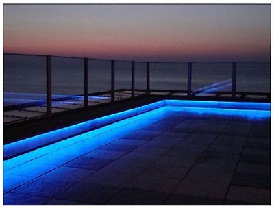 5M - 16ft RGB Colour Changing LED Decking Garden Deck Patio Light Strip Outdoor
