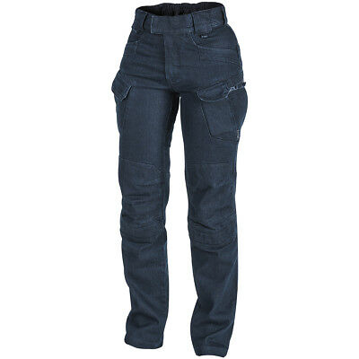 Helikon Women's UTP Pants Tactical Hiking Combat Security Trousers Denim Blue