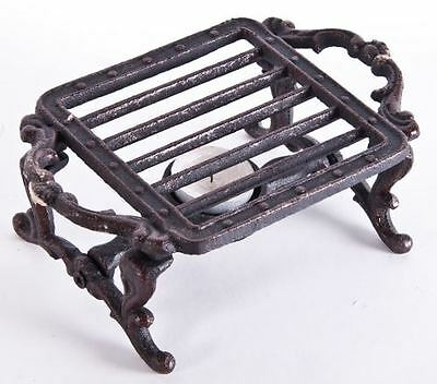 """Winstock Warmers"" Square Cast Iron Table Candle Food Warmers"