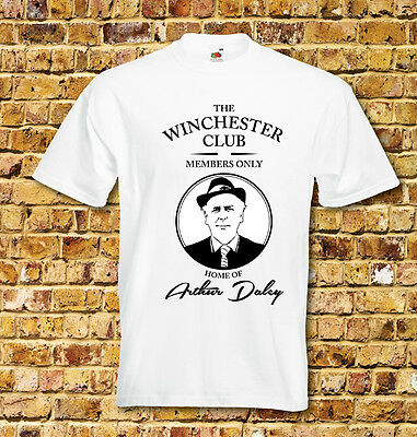 The Winchester Club Arthur Daley Minder Themed T Shirt New