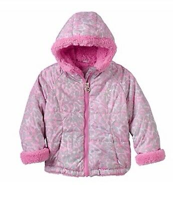 1610b7034 Zeroxposur Sherpa-Lined Leopard Transitional Jacket Toddler Girl Clothes  Size 4t