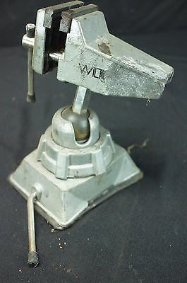 "Small Wilton Special Purpose 2.75"" 3VB Vacuum Base Vice Vise 2-3/4"" Swivel Head"