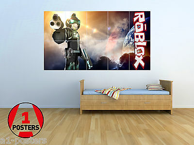 Massive Wall Poster//Picture//Art A3x10 ROBLOX 02 KIDS