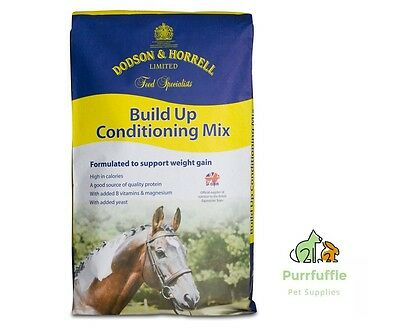 20Kg Dodson & Horrell Build Up Conditioning Mix Horse Food Feed With Vitamins