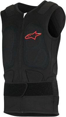ALPINESTARS Track Vest 2 CE Level 2 Protection Vest (Black) Choose Size