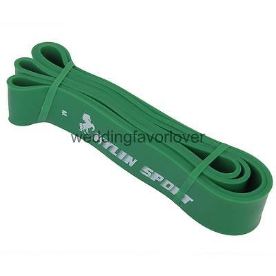 Tension Resistance Stretch Band Exercise Loop for Gym Fitness 50-125lb-Green
