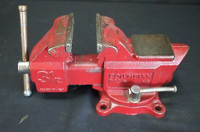 "Columbian USA General Purpose 3.5"" Work Bench Vice Vise Welding Fabrication Mill"