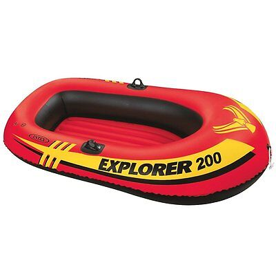 Boat Raft 2 Person Inflatable Summer Floatie Outdoors Pool Water Intex Lake NEW