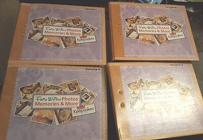 Creative Keepsakes Fun with Photos Memories and More Volume 1-4 Retired