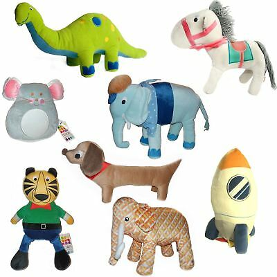 Hiccups Novelty Children's Animal Cushions Soft Toys