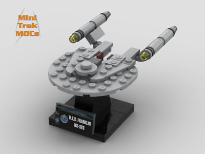 LEGO STAR TREK Deep Space Nine DS9 Instructions//Parts List Files Only