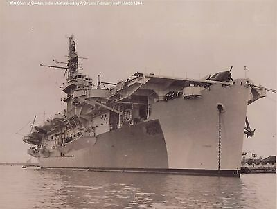Over 680 WWII ROYAL NAVY ESCORT CARRIER PHOTOGRAPHS (PHOTOS) ON CD DISK
