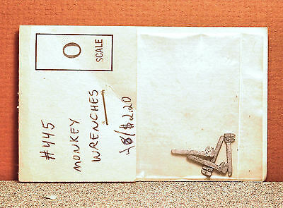 O Scale American Model Builders Monkey Wrenches White Metal Kit #445