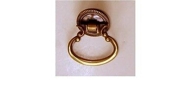Very Nice Small Brass & Copper Drawer Pull