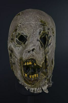 Distortions Unlimited Collection Scarecrow Halloween Mask Costume Zombie
